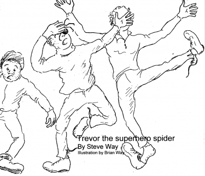 Trevor the superhero spider